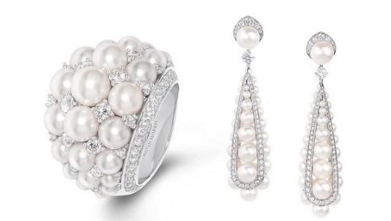 David Morris 推出Pearl Deco系列:珍珠与装饰艺术
