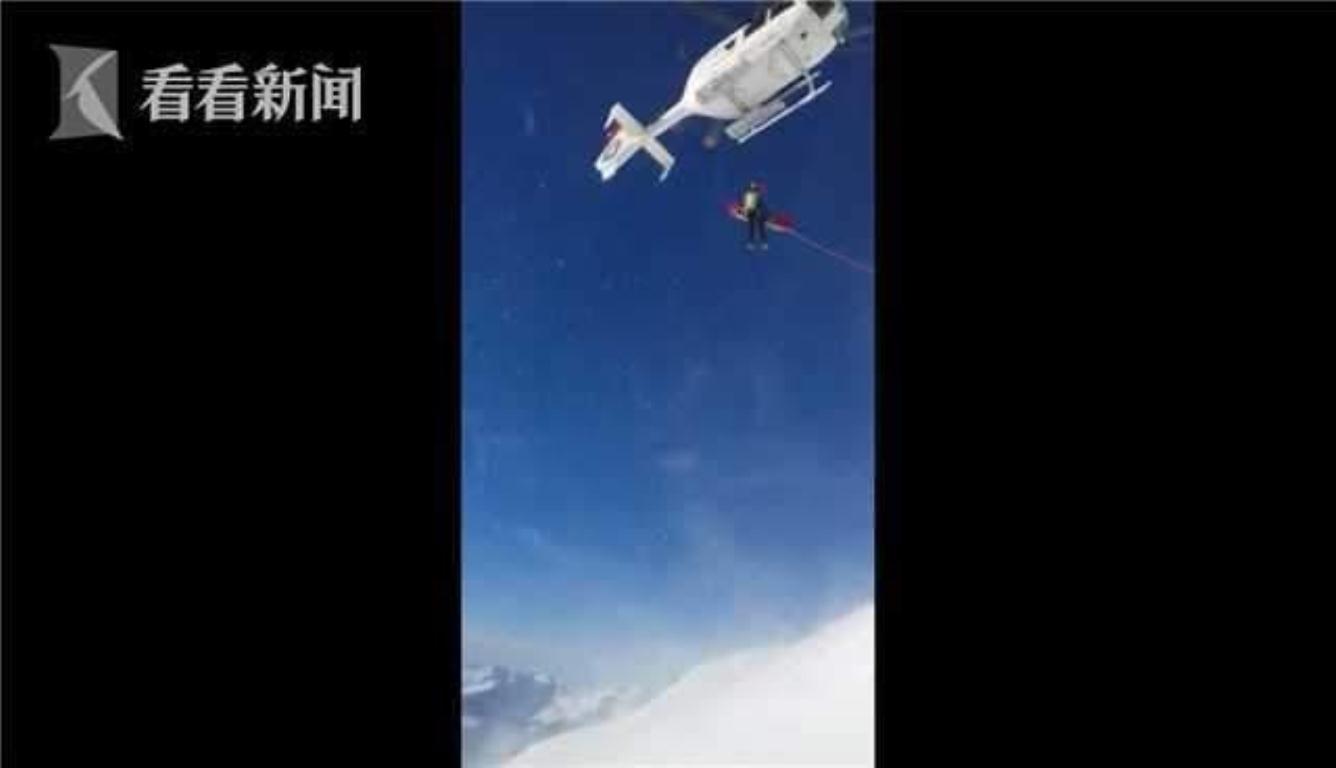 男孩滑雪遭遇雪崩 被埋40分钟后成功获救