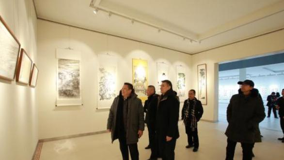 中华儿女杂志创刊三十周年书画艺术展在北京开幕