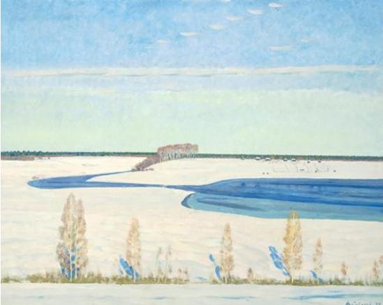 """""""故乡——西多罗夫、妥木斯油画展""""将在中国美术馆举行"""