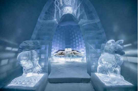 冰屋酒店和雪山博物馆 专属冬季的新意思