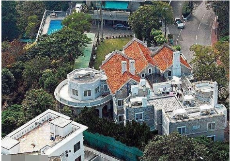 霍启刚郭晶晶上亿豪宅曝光 装修奢华堪比城堡
