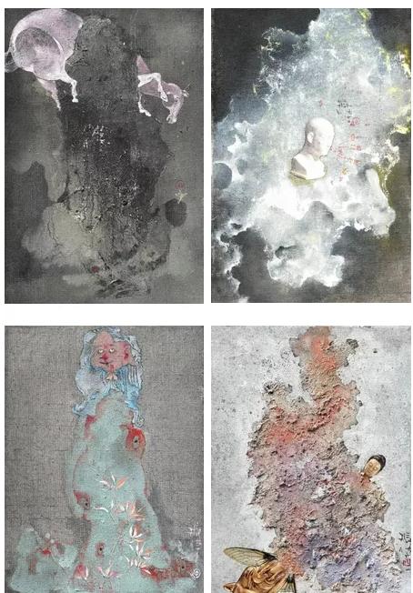 """""""虚境""""何振华作品展在上海美术学院美术馆举办"""