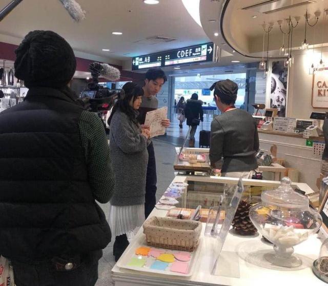 福原爱二胎后首曝光 与老公在日本著名景点被偶遇