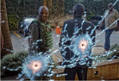 肯尼亚一酒店遭遇袭击 至少造成15人死亡