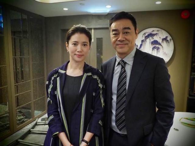 刘青云再搭档袁咏仪 《新不了情》CP相隔23年再同框!