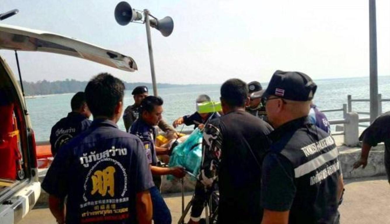 一中国游客泰国身亡 下水不久就出现疑似抽搐溺水症状