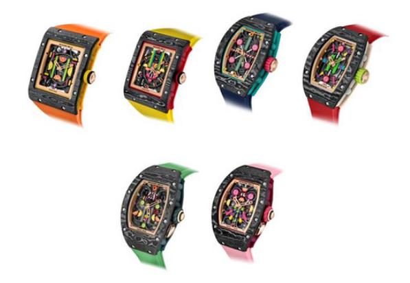 RICHARD MILLE SIHH 2019 新颖的腕表系列