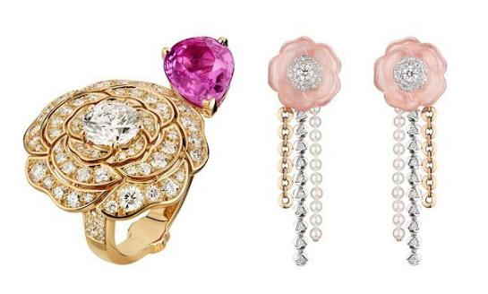 Chanel香奈儿推出山茶花主题珠宝新品