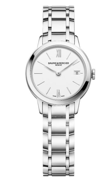 BAUME & MERCIER 名士表推出克莱斯麦女装腕表系列的全新时计
