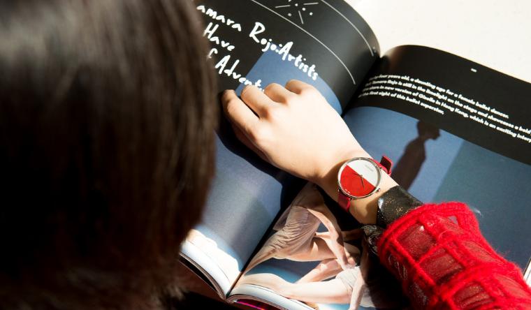 CALVIN KLEIN 腕表首饰推出Rise 日出系列红色款腕表