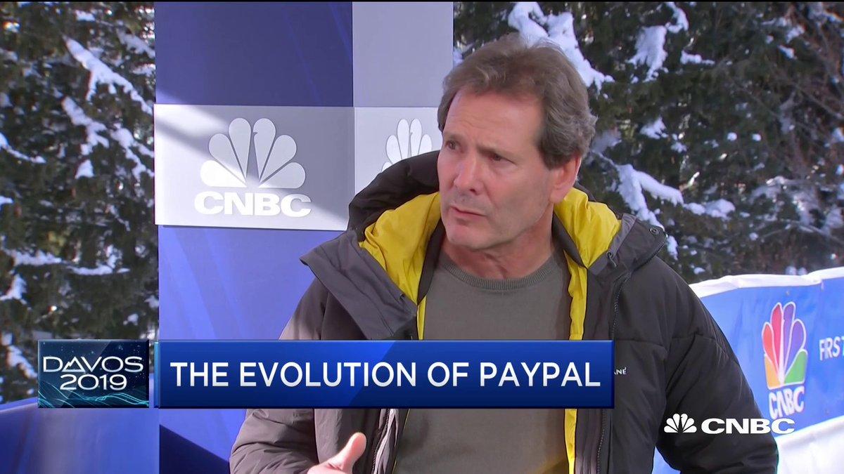 PayPal CEO:加密货币更像是区块链的奖励机制 而不是货币