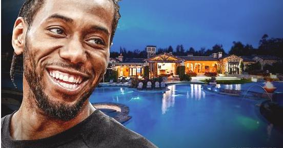 莱纳德在加州购两万平方豪宅 狂掷1330万!
