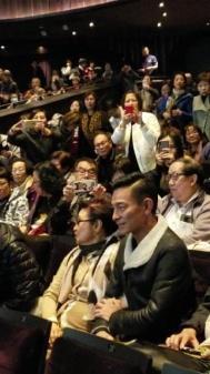 刘德华白雪仙粤剧 演唱会取消后首露面