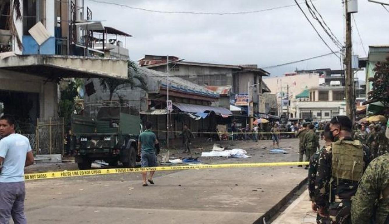 菲律宾苏禄省发生连环爆炸 仅相隔一分钟