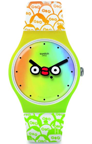斯沃琪 (Swatch) 全新推出2019俱乐部特别款腕表WHAT'S YO FACE