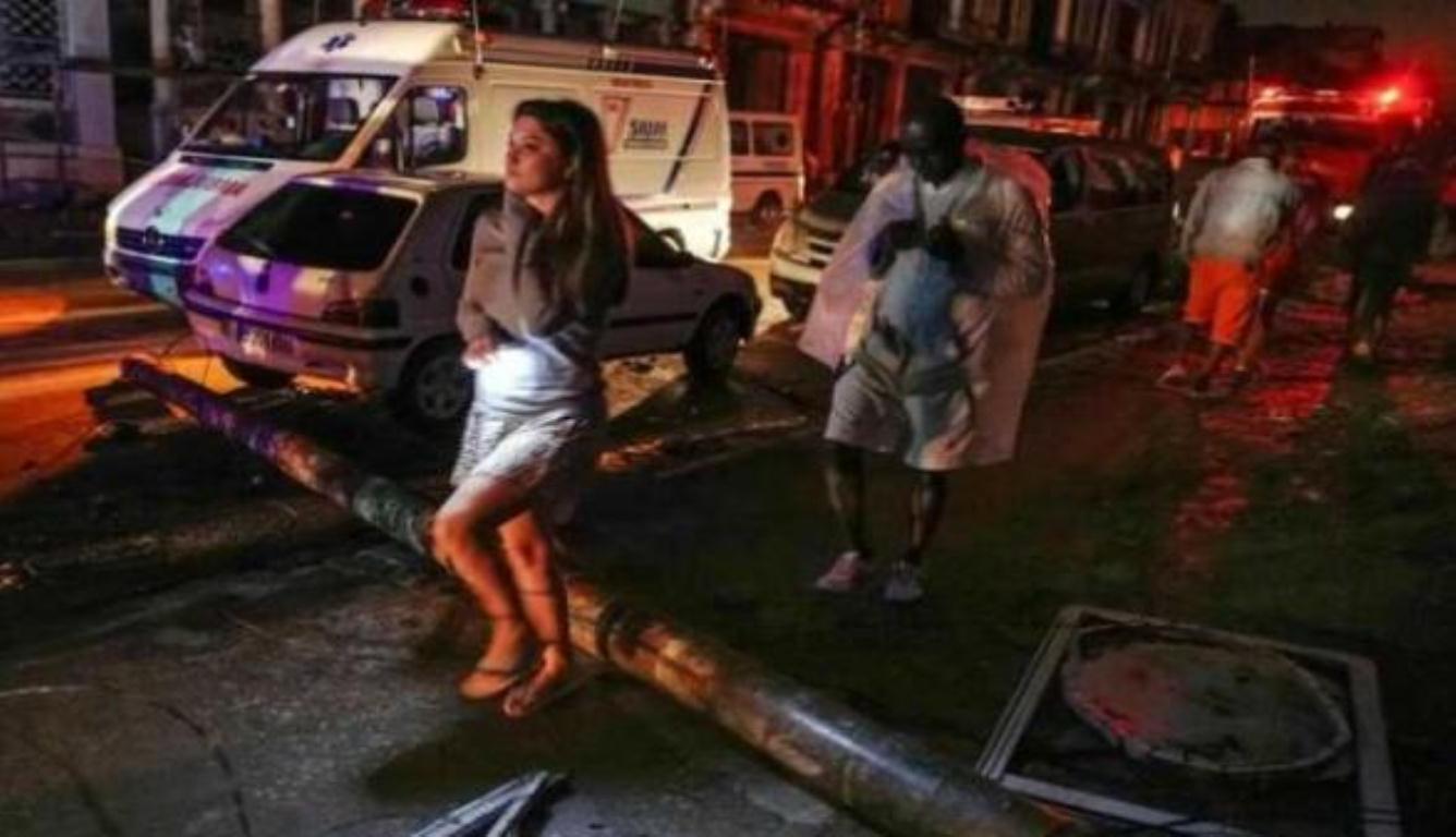 哈瓦那遭暴雨袭击致3死172伤 目前修复工作已经开始