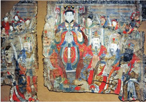 山西省收藏家将44幅明清时期寺观壁画 捐赠山西博物院