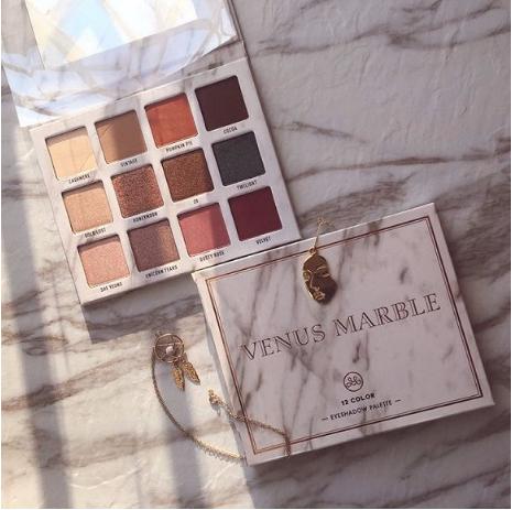 Instagram小众网红彩妆Venus Marble