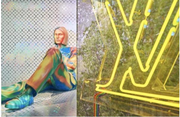 路易威登现任总监Virgil Abloh首次推出2019春夏男装系列