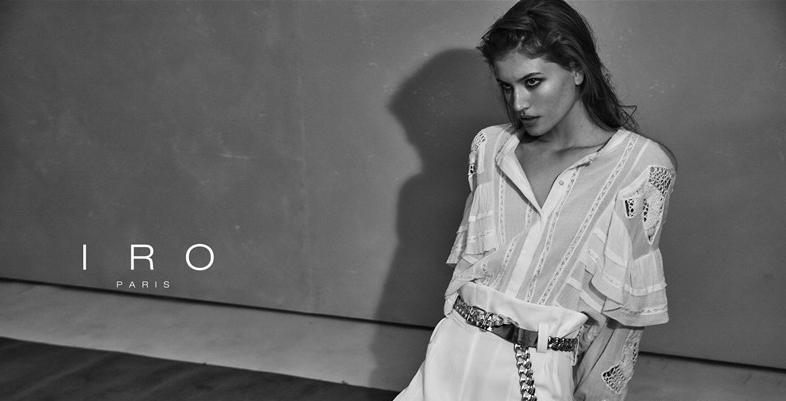 IRO Paris 2019春夏系列广告大片发布:颠覆传统