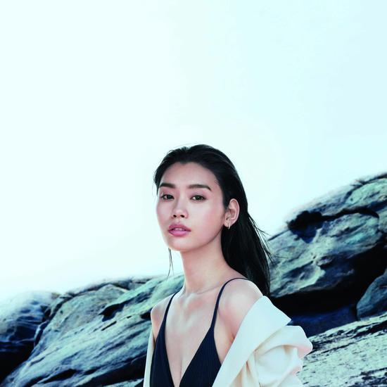 超模奚梦瑶正式荣升为碧欧泉全球代言人