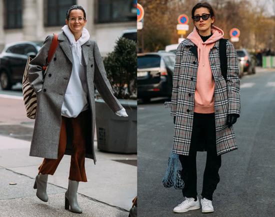 开春服装流行趋势示范 卫衣助你开启时尚之路