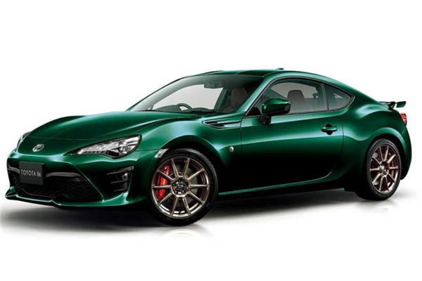 丰田名车品牌发布86英国赛车绿特别版官图