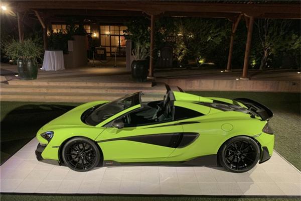 迈凯轮正式发布600LT Spider车型 2月20日正式公布售价