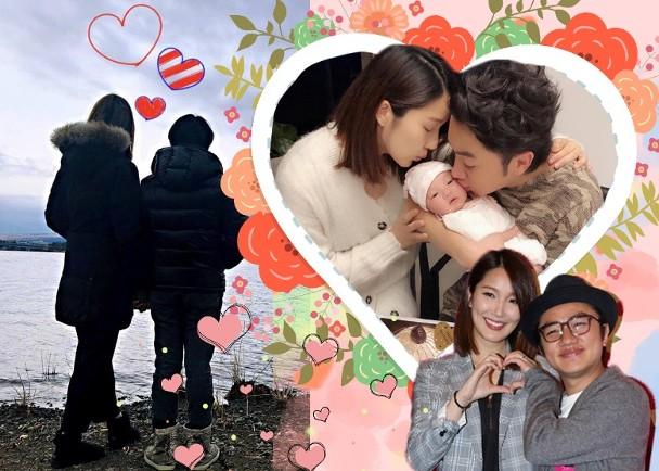 李亚男王祖蓝晒背影 情人节也是结婚4周年