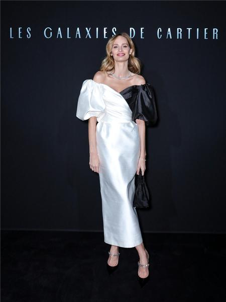 卡地亚举办创意晚宴 庆祝Les Galaxies de Cartier系列珠宝的诞生