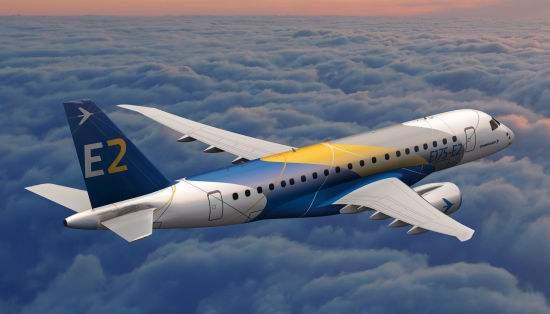 威德罗航空公司首架巴航E190-E2私人飞机顺利交付