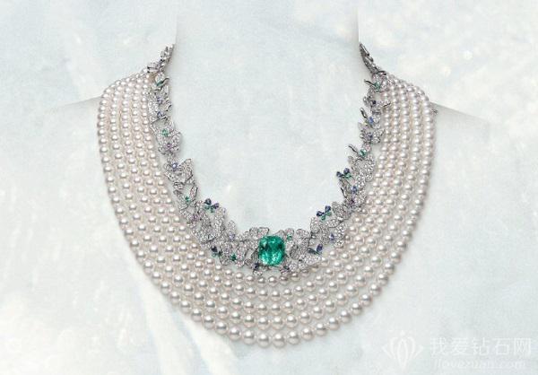 回顾御木本125周年高级珠宝展览精美展品