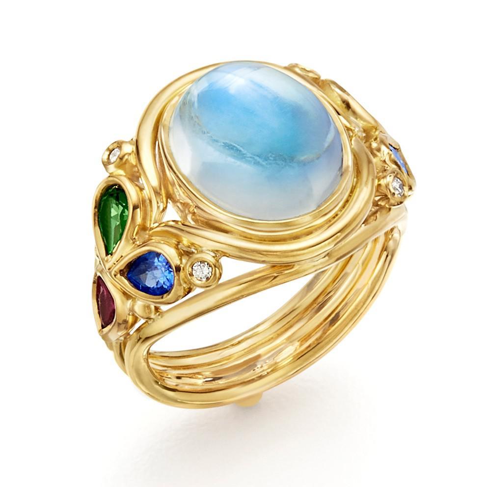 纽约珠宝设计师Temple St. Clair新一季珠宝系列——「Silk Road」