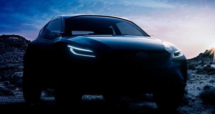 注意!斯巴鲁Viziv Adrenaline概念车预告图出炉
