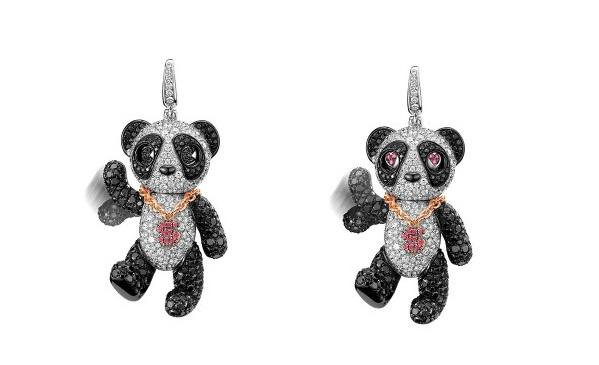 珠宝品牌Qeelin推出全新限量版Neko Bo Bo吊坠