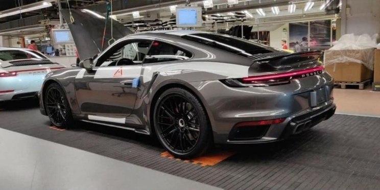 911 Turbo实车泄露 配有更多的空气动力学套件