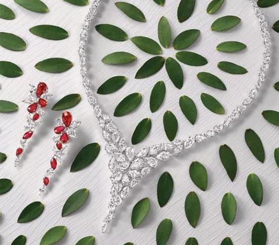 珠宝品牌格拉夫推出最新的心血结晶Foliage系列