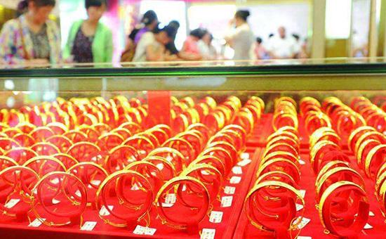 中国黄金首饰消费同比增长5.71%