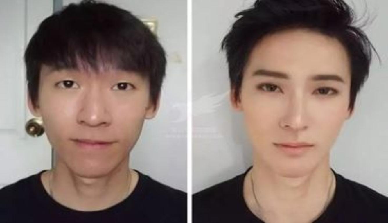 韩国男性化妆日常 男性化妆品销售额暴涨