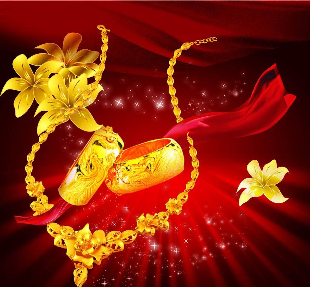 黄金首饰变色的原因
