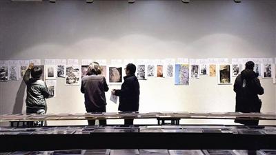 """第三届""""陆俨少奖""""全国中国画展初评在浙江杭州举行"""