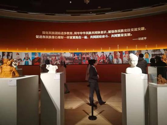 """""""全国雕塑艺术作品展""""在中国美术馆开展"""