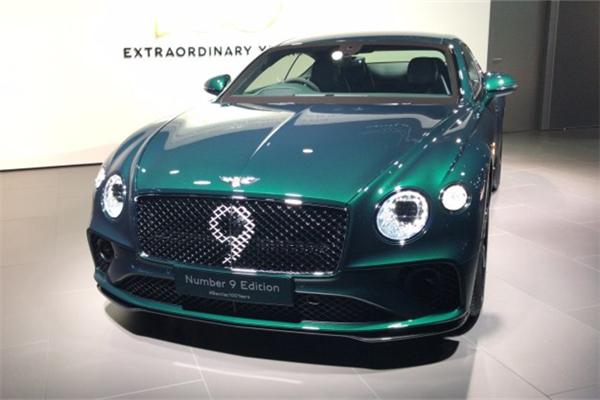 宾利正式发布欧陆GT Number 9 Edition车型