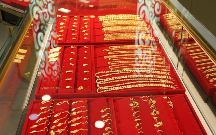 2018年黄金首饰消费同比增长5.71%