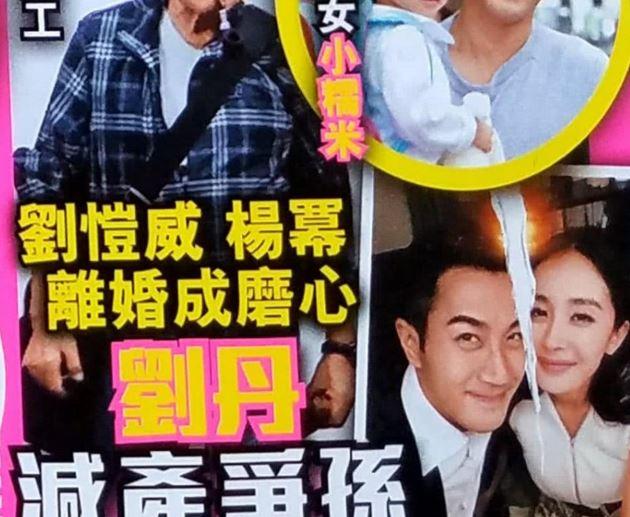 频繁回港 杨幂争女儿抚养权?