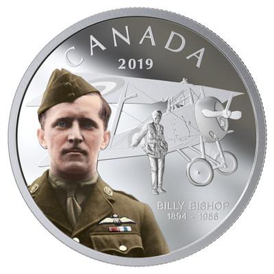 加拿大推出新银币 纪念传奇飞行员比利‧毕晓普