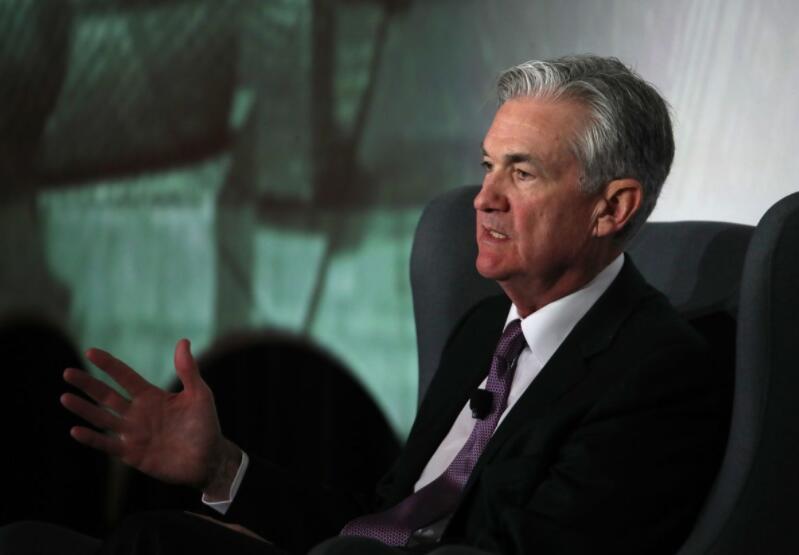 美联储主席鲍威尔:现在不必改变利率政策