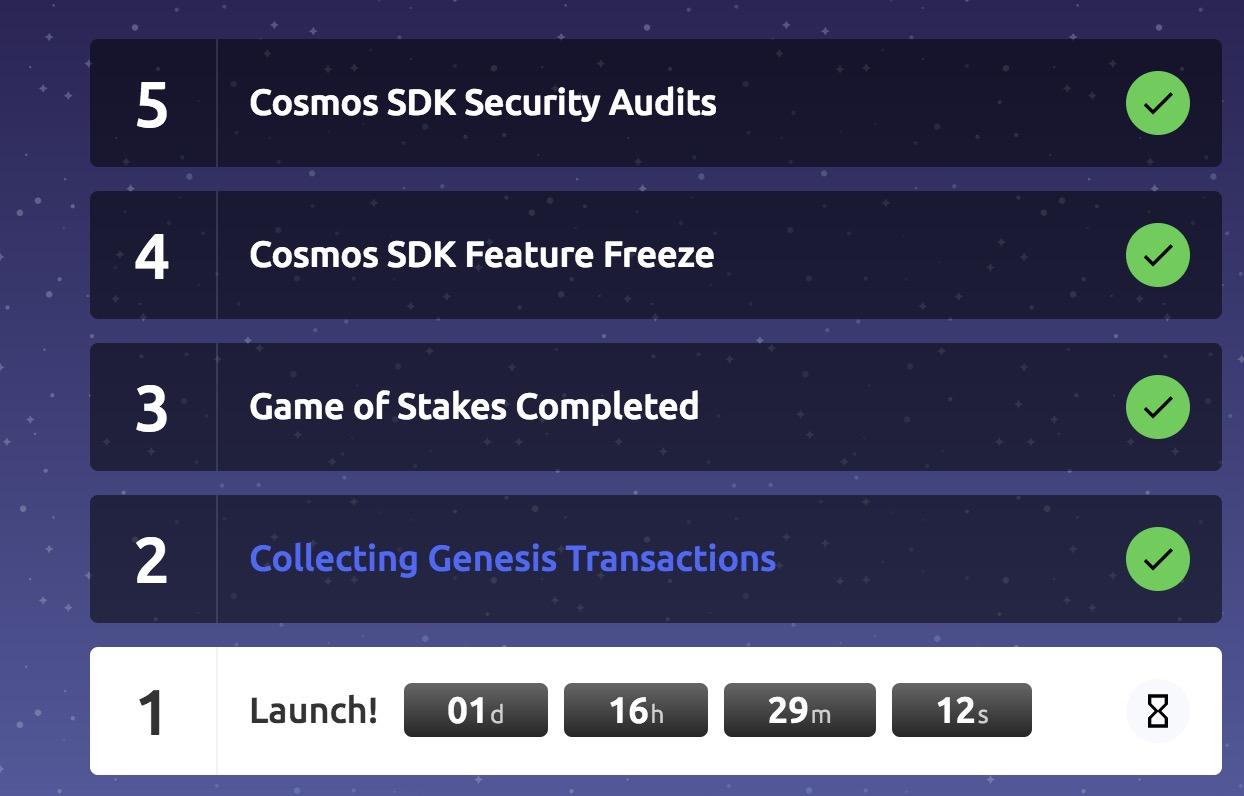 Cosmos主网将上线 未来会推动整个加密货币行业的发展