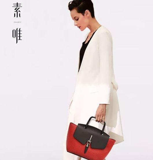中国风的简约之法 素唯雪珠系列包包